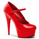 Scarpe Pleaser Delight-687 R/M Tg 35